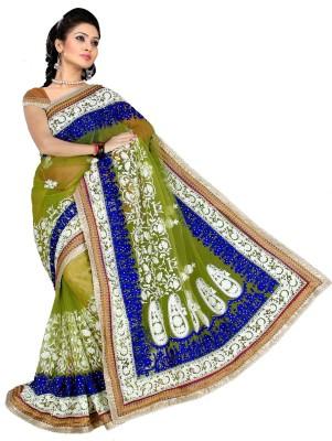 Shivam Fashions Embriodered Bollywood Net Sari
