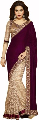 Aryaa Fashion Embriodered Bollywood Georgette Sari