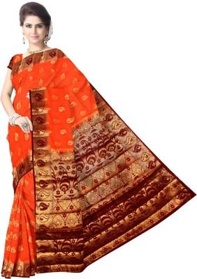 LUBDHA Woven Fashion Art Silk Sari