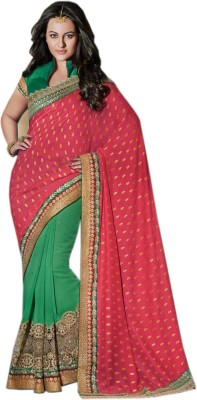 mGm Creation Self Design Fashion Jacquard Sari