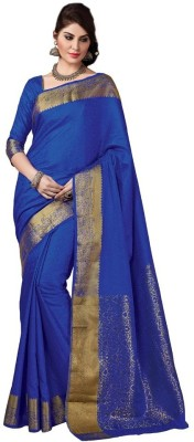 Radhika Creation Self Design Fashion Raw Silk Sari