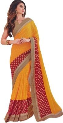 BEAUVILLE VAIIBAVAM Embriodered Fashion Shimmer Fabric Sari