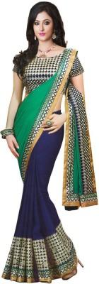 Deepak Sari Embriodered Bollywood Pure Georgette Sari