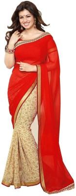 Nena Fashion Printed Daily Wear Georgette Sari