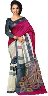 A G Lifestyle Printed Fashion Art Silk Sari