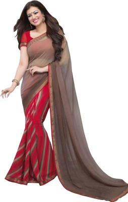 SH Fashion Embellished Fashion Georgette Sari
