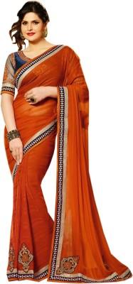 Heer Ganga Embriodered Fashion Handloom Georgette Sari