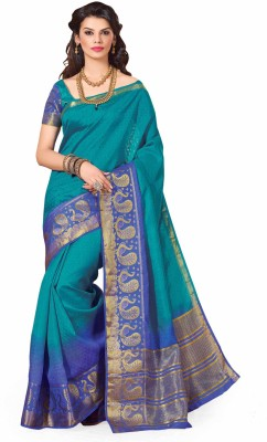Rajshri Fashions Woven Fashion Art Silk Sari