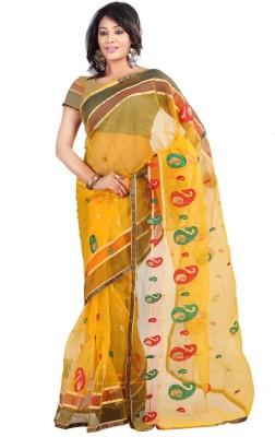 Today Deal Embriodered Fashion Tissue Sari
