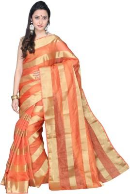 Cinnamonn Striped Fashion Cotton Sari