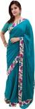 laveena Floral Print Banarasi Chiffon Sa...