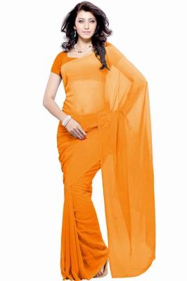Khushali Self Design Fashion Georgette Sari
