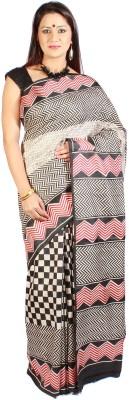 Slice of Bengal Printed Murshidabad Silk Sari