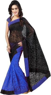 Aruna Sarees Self Design Fashion Handloom Brasso Sari