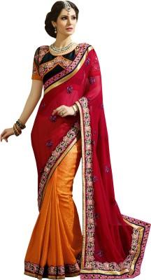 Kvsfab Embriodered Fashion Jacquard Sari