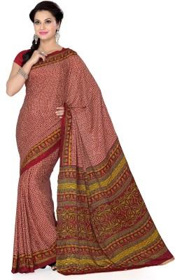 Aanya Printed Daily Wear Crepe Sari