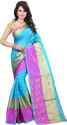 The Fashion Outlets Paisley, Self Design Fashion Cotton, Silk Sari