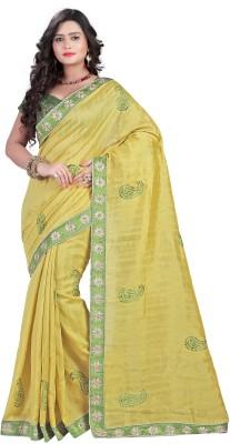 Shagun Prints Self Design Bhagalpuri Art Silk Sari