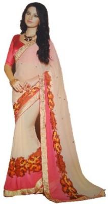 Taani Printed Fashion Chiffon Sari