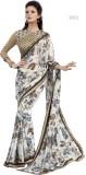 H Raj Printed Fashion Georgette Saree (W...