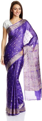 universlpoint Self Design Chanderi Brocade Sari