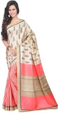 Krishna Ki Leela Printed Bollywood Printed Silk Sari