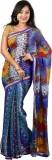 Nyaye Self Design Fashion Synthetic Sare...