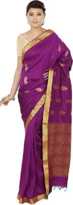 Sri Sai Vastra Paisley Kanjivaram Silk Sari