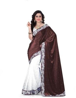 Fabian Fashion Self Design Bollywood Velvet Sari