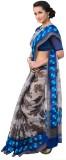 Craftghar Printed Bhagalpuri Silk Saree ...