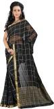 Roopkala Silks Checkered Mysore Chiffon ...