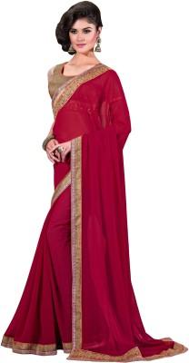 PAHAL FASHION Embriodered Fashion Silk Sari