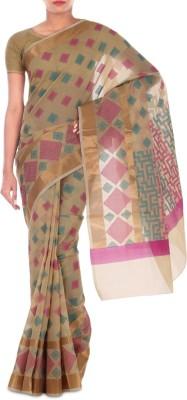 Paradise Fashion Woven Banarasi Handloom Art Silk Sari