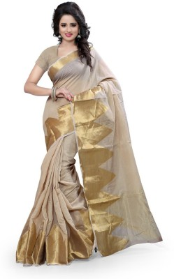 Style U Self Design Kanjivaram Cotton Sari