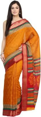VIVID INDIA Printed Fashion Polycotton Sari