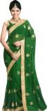 PHIROJA Solid Paithani Poly Silk Saree (...