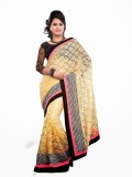 Dancing Girl Embroidered Bollywood Net S...