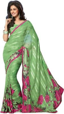 Panash Self Design Fashion Chiffon Sari