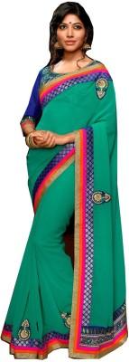 RCPC Embriodered Fashion Georgette Sari
