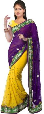 Supriya Fashion Self Design Bollywood Chiffon Sari