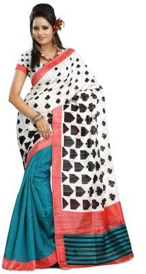 Swaman Printed Bhagalpuri Art Silk Sari