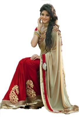 Gavari Fab Embriodered Fashion Cotton Sari