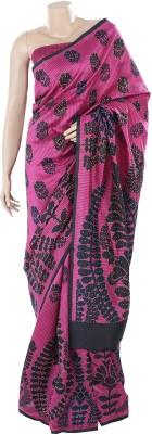 BEAUVILLE VAIIBAVAM Printed Coimbatore Dupion Silk Sari
