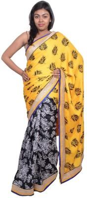 Kanchan Shree Printed Bollywood Jute Sari