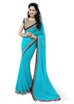 Vishal Saree Embriodered Fashion Chiffon Sari