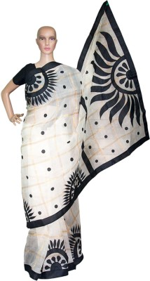 Prateeti Applique Daily Wear Handloom Cotton Sari