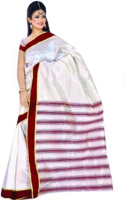 La Belleza Boutique Striped Bhagalpuri Art Silk Sari