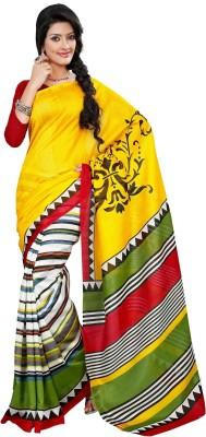 Swapna Creations Printed Bhagalpuri Art Silk Sari