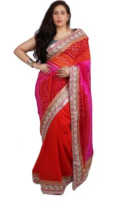 Philanto Design Self Design Fashion Viscose Sari