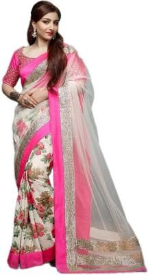 Hian Printed Bollywood Georgette Sari